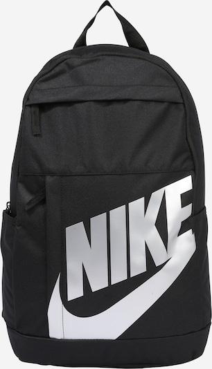 Nike Sportswear Sac à dos 'NK ELMNTL BKPK - 2.0' en noir / argent, Vue avec produit