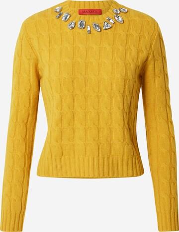 MAX&Co. Pullover 'SCERIFFO' in Gelb