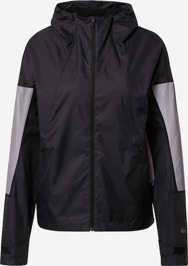 NIKE Sportjas 'Flash Run Division' in de kleur Zwart, Productweergave
