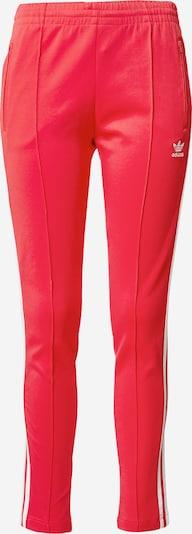 Pantaloni ADIDAS ORIGINALS pe roz închis / alb, Vizualizare produs