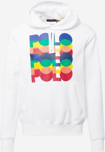 Polo Ralph Lauren Sweatshirt in de kleur Navy / Geel / Groen / Kersrood / Wit, Productweergave