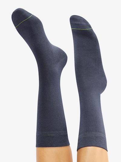 CHEERIO* Socken 'BEST FRIEND' in blau: Rückansicht