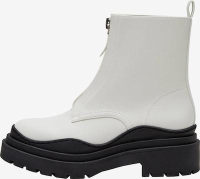 MANGO Stiefelette 'Wenzol' in schwarz / weiß, Produktansicht