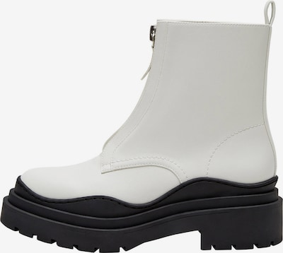 MANGO Bottines 'Wenzol' en noir / blanc, Vue avec produit