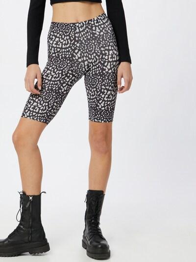 JDY Pantalon 'ROSSY' en noir / blanc, Vue avec modèle