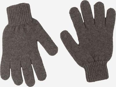 Zwillingsherz Strickhandschuhe in taupe, Produktansicht
