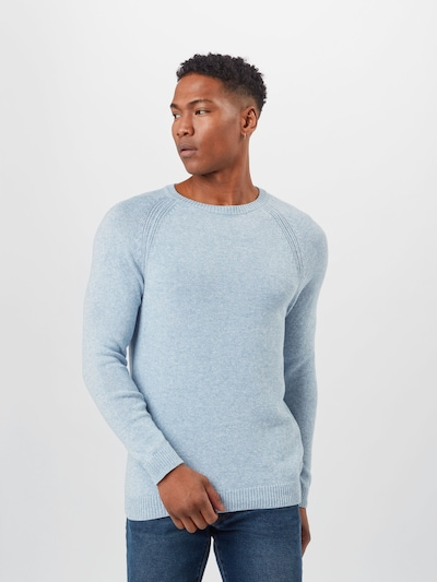 ESPRIT Sweater 'Marl' in Light blue: Frontal view