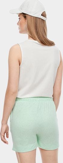 Beliebt Frauen Bekleidung s.Oliver Jerseyshorts in mint Zum Verkauf