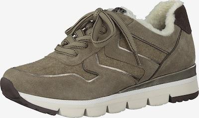 MARCO TOZZI Sneakers in Pueblo / Brocade / Silver, Item view