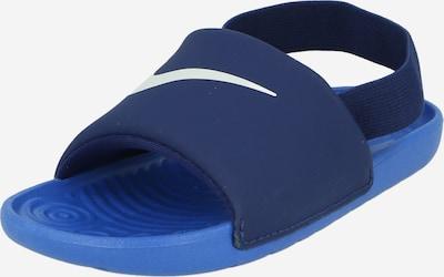 Nike Sportswear Zapatos abiertos 'Kawa' en marino / blanco, Vista del producto