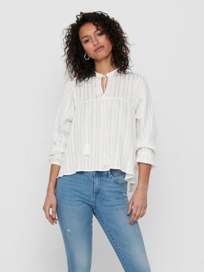 ONLY Bluse 'Elisa' in weiß, Modelansicht