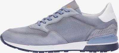 Van Lier Sneakers laag 'Chavar' in de kleur Duifblauw / Lichtgrijs / Wit, Productweergave