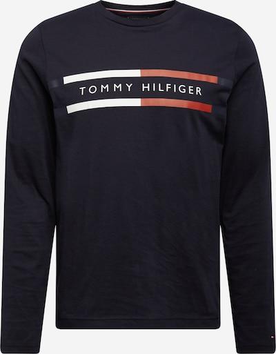 TOMMY HILFIGER Majica | nočno modra / rdeča / bela barva, Prikaz izdelka