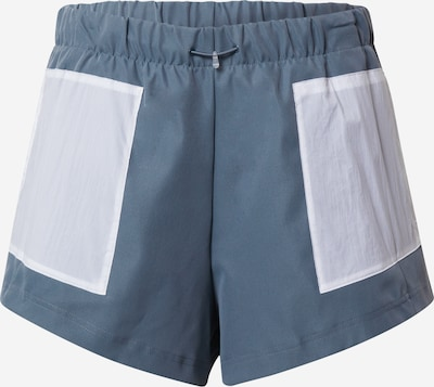 ADIDAS PERFORMANCE Pantalón deportivo en azul ahumado / blanco, Vista del producto