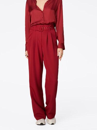 LeGer by Lena Gercke Chino kalhoty 'Flora' - tmavě červená, Model/ka