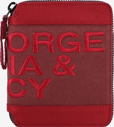George Gina & Lucy Geldbörse 'Black Jack' in rot / pastellrot, Produktansicht