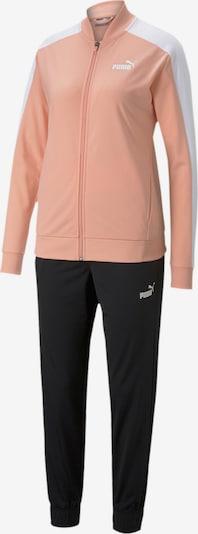PUMA Trainingsanzug in rosa / schwarz / weiß, Produktansicht