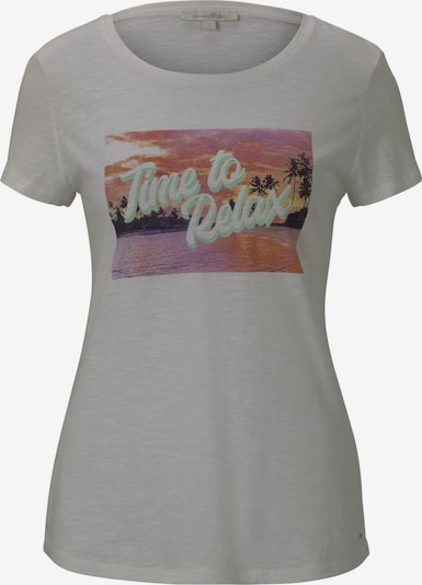 TOM TAILOR DENIM T-Shirt in grau, Produktansicht