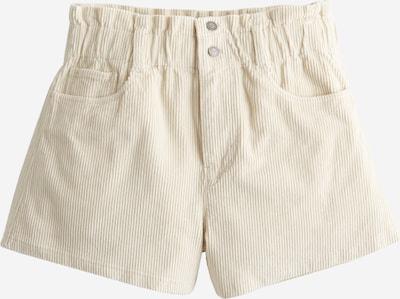 HOLLISTER Püksid kreem, Tootevaade