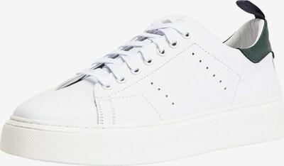 INUOVO Sneaker in dunkelgrün / weiß, Produktansicht
