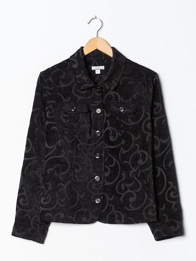 Croft & Barrow Jacket & Coat in M-L in Black, Item view