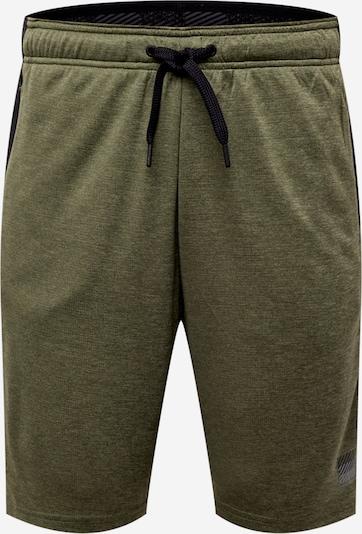 Superdry Pantalon de sport en gris / olive / noir, Vue avec produit