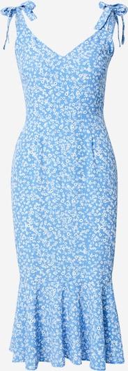 Sistaglam Robe 'ATALYA' en bleu marine / bleu ciel / blanc, Vue avec produit
