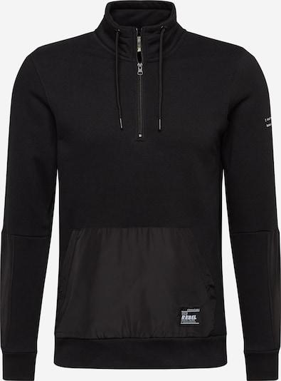 Redefined Rebel Sweat-shirt 'Robin' en noir / blanc, Vue avec produit