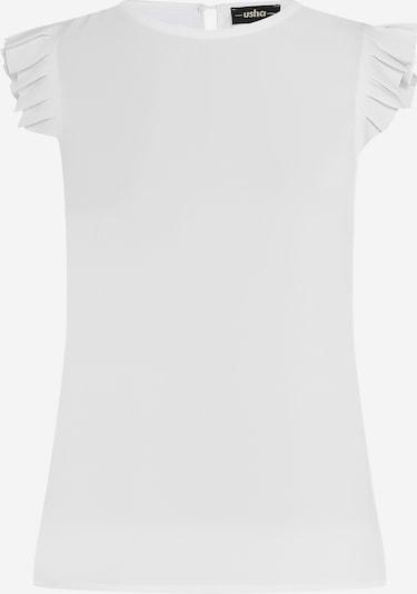 usha BLACK LABEL Top in de kleur Wit, Productweergave