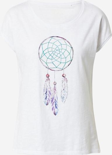 Tricou EDC BY ESPRIT pe mai multe culori / alb, Vizualizare produs