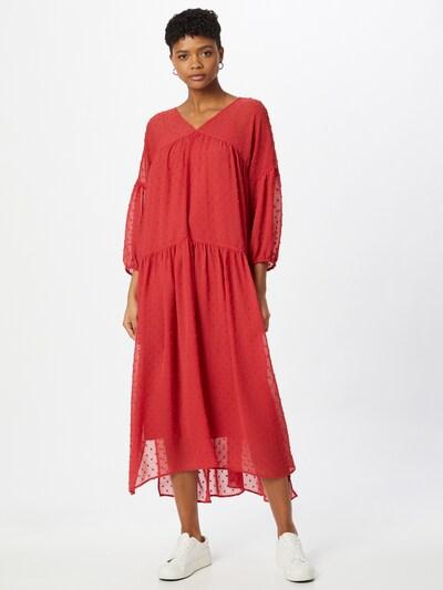 SOAKED IN LUXURY Kleid 'Pearmain' in rot, Modelansicht