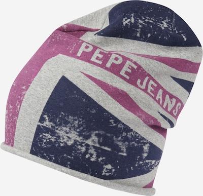Pepe Jeans Čepice 'ETHAN' - námořnická modř / šedý melír / fialová, Produkt