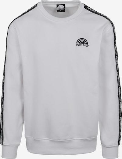 SOUTHPOLE Sweatshirt in schwarz / weiß, Produktansicht