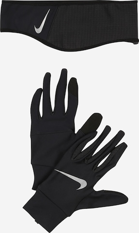 NIKE Accessoires Sports gloves in Black