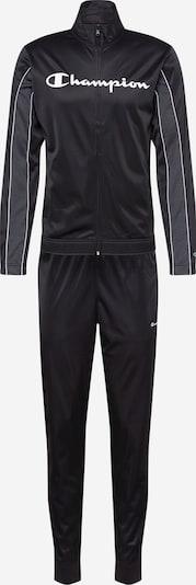 Champion Authentic Athletic Apparel Survêtements en gris / noir / blanc, Vue avec produit