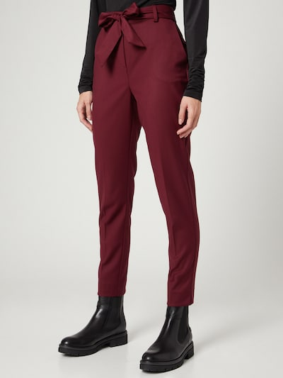 Guido Maria Kretschmer Collection Pants 'Tilda' in Bordeaux, View model