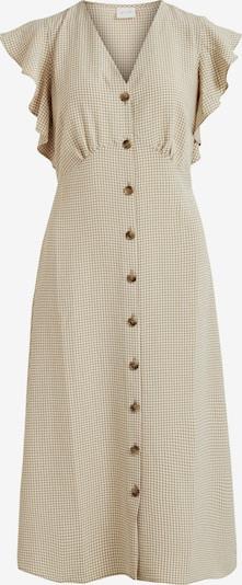 VILA Kleid in hellbeige / weiß, Produktansicht