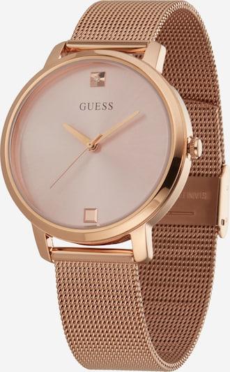 GUESS Reloj analógico 'NOVA' en oro rosa / rosé, Vista del producto