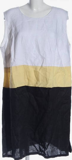 Ulla Popken Blusenkleid in 5XL in creme / schwarz / weiß, Produktansicht