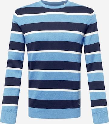 Pulover de la TOM TAILOR pe albastru