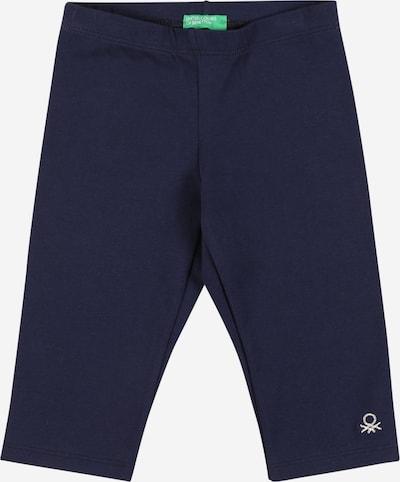 UNITED COLORS OF BENETTON Legginsy w kolorze ciemny niebieski / srebrnym, Podgląd produktu