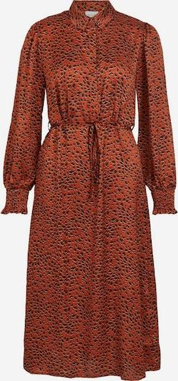 VILA Kleid in rostrot / schwarz, Produktansicht