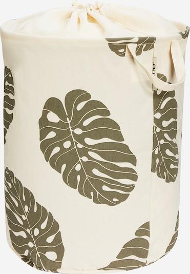 Coș de rufe 'Comfy L' ABOUT YOU pe bej / alb natural, Vizualizare produs