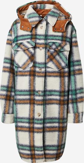 s.Oliver Between-Seasons Coat in Beige / Brown / Green / Black, Item view
