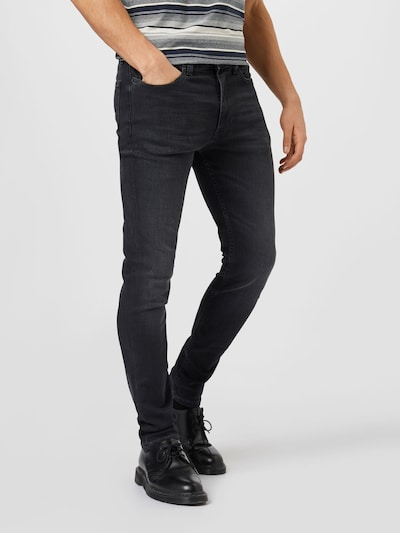 Tommy Jeans Jeans 'SIMON' in black denim, View model