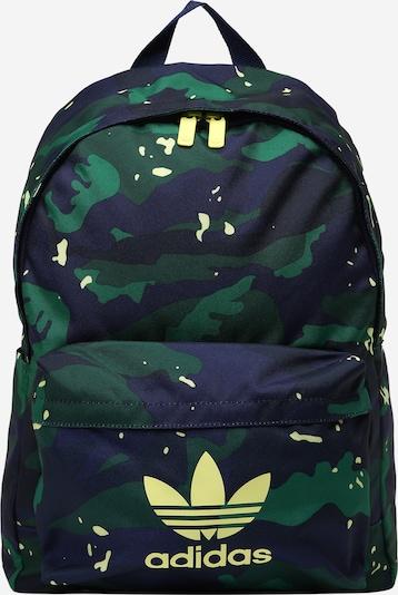 ADIDAS ORIGINALS Rucksack in navy / kobaltblau / smaragd / jade, Produktansicht