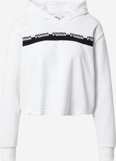 PUMA Sweat de sport en noir / blanc, Vue avec produit