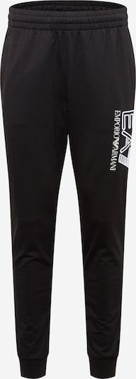 EA7 Emporio Armani Hose in schwarz / weiß, Produktansicht