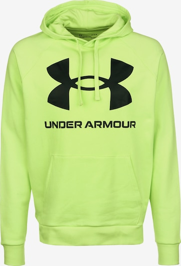 UNDER ARMOUR Sportsweatshirt in de kleur Neongroen, Productweergave