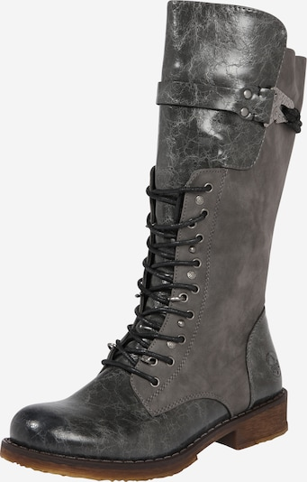 RIEKER Lace-up boot in Dark grey, Item view
